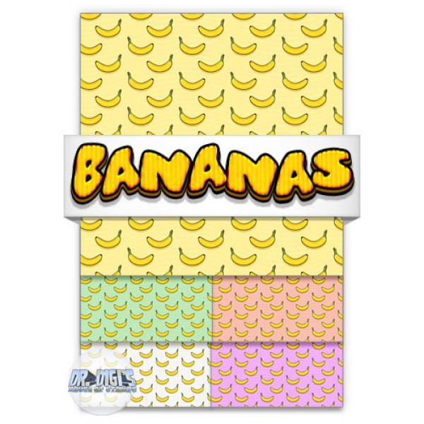 Bananas Backing Paper