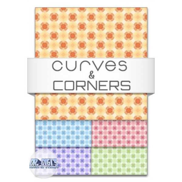 Curves and Corners backing paper