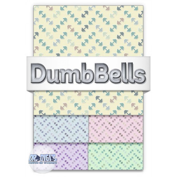 DumbBells Backing Paper