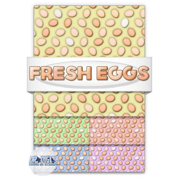 Fresh Eggs Backing Paper