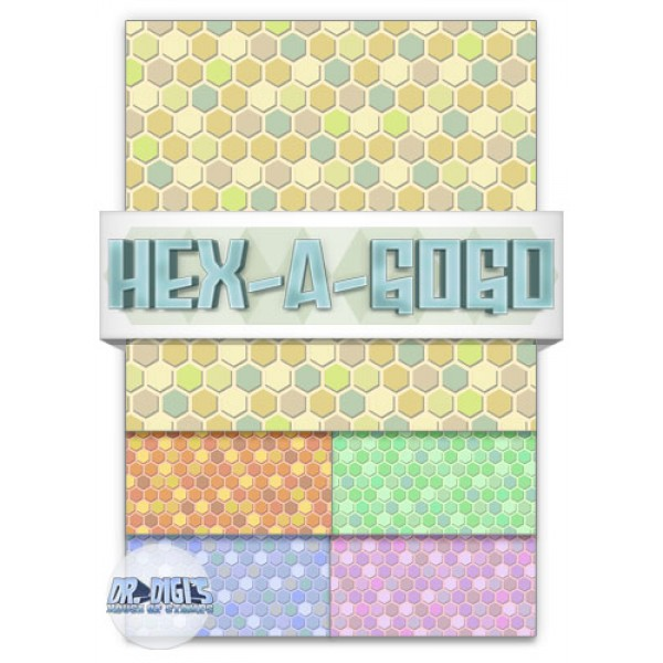 Hex-a-gogo backing paper