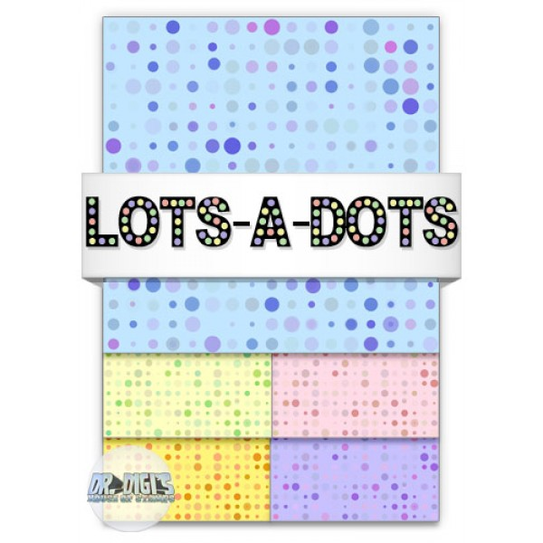 Lots a Dots Backing Paper