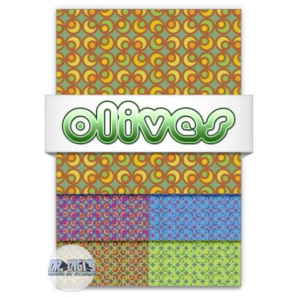 Olives Backing paper