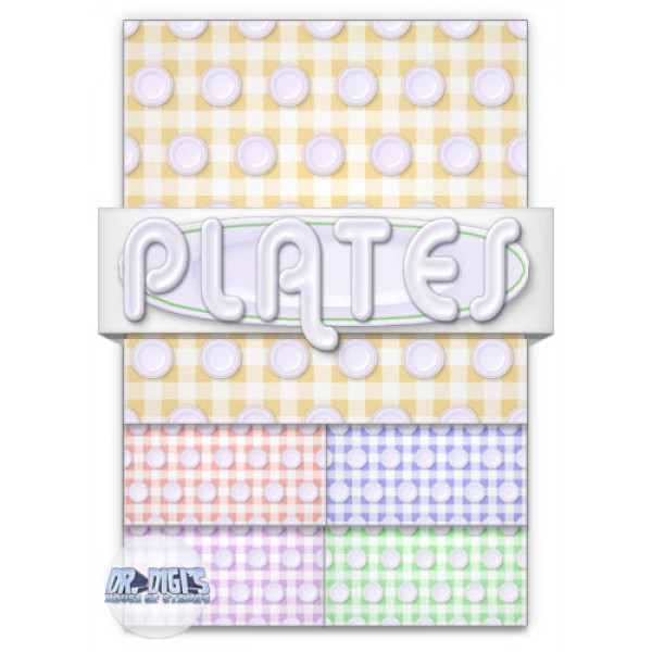Plates Backing paper