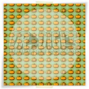 Pumpkin Polka Dots Backing Paper