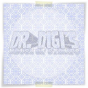 Snowflakes Backing paper