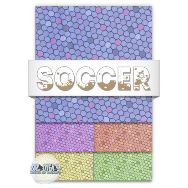 Soccer backing paper