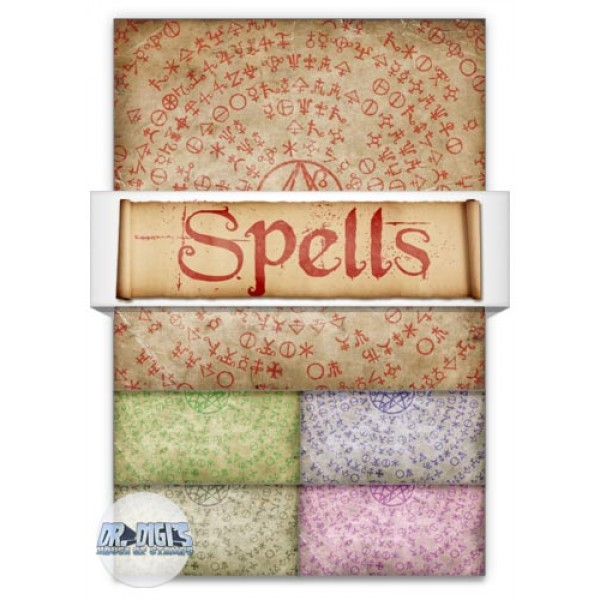 Spells Backing Paper