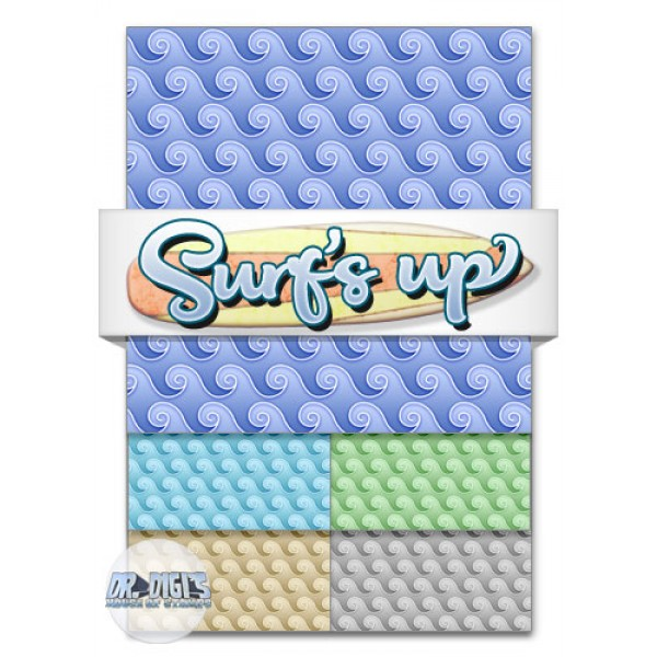 Surf's Up Backing Paper