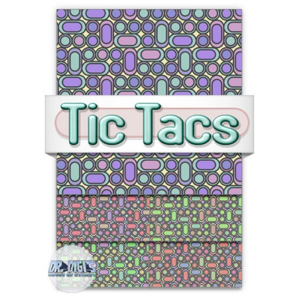 Tic Tacs Backing paper