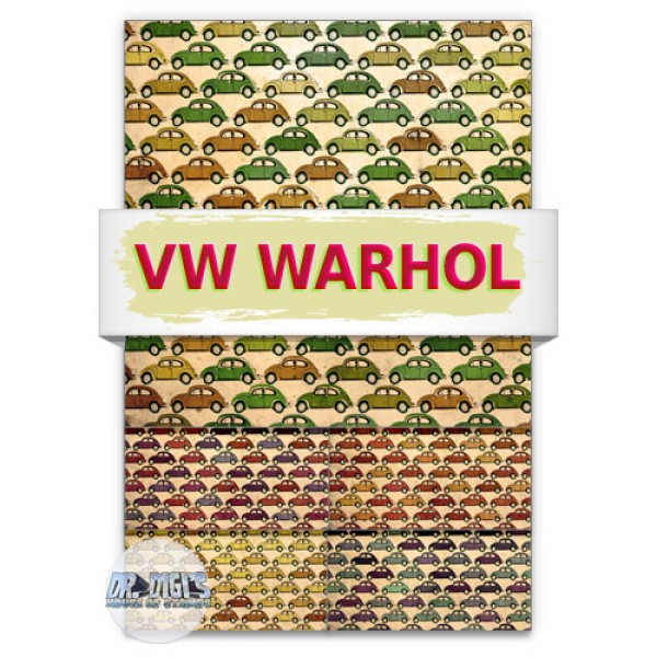 VW Warhol Backing Paper