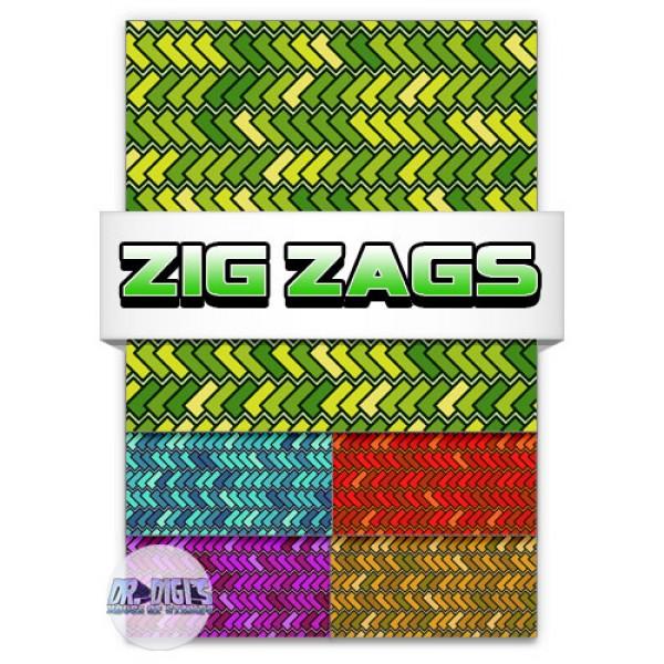 Zig Zag Backing paper