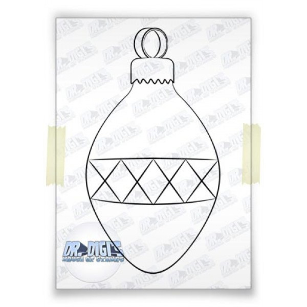 Bauble free digital stamp