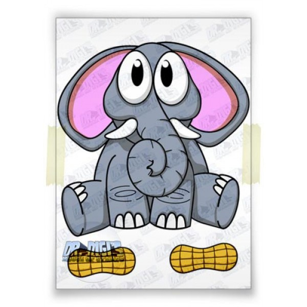 Cuddly Critters Elephant (colour)