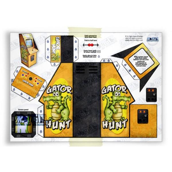 Dr Digi Gator Hunt Arcade