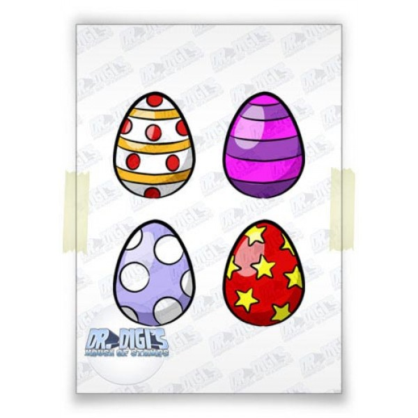 Easter Eggs (colour)