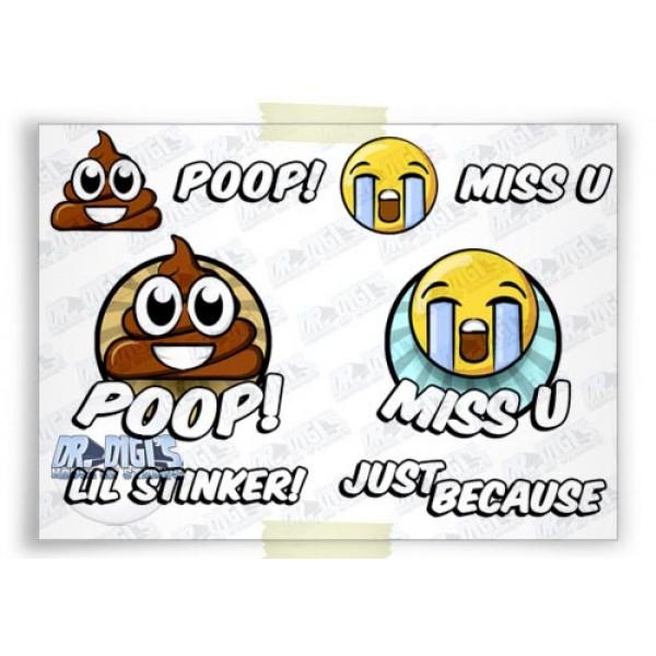 Emogeez Poop