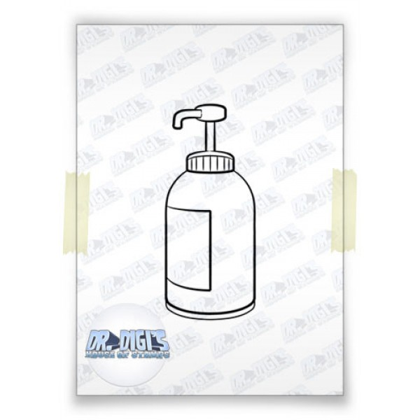 Hand-Sanitizer Free Digi stamp