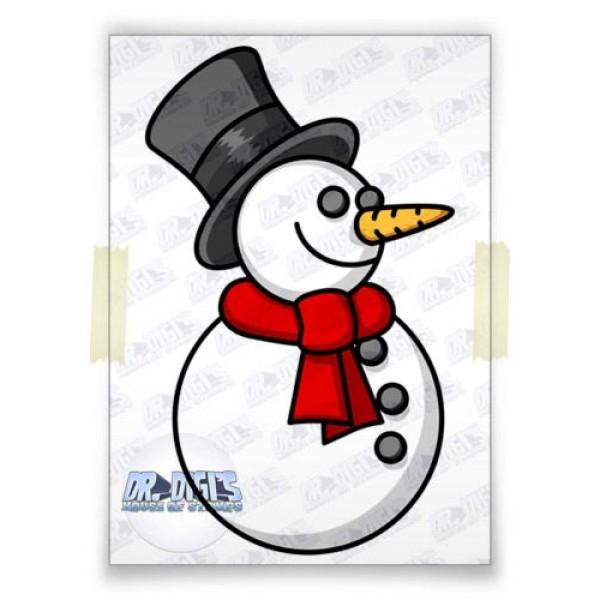 Simple Snowman (colour)