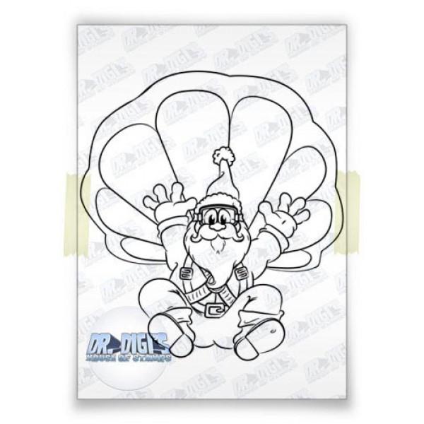 Skydive Santa