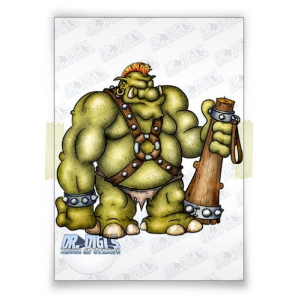 Trevor the Troll (colour)