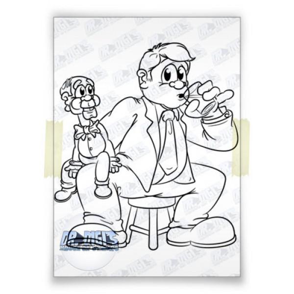 Vivian the ventriloquist