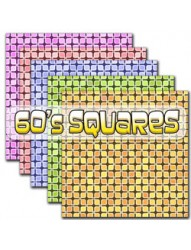 60s Squares Backing Paper