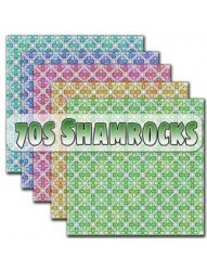 70s Shamrocks Backing papers