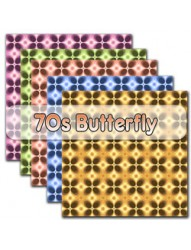 70s Butterflys backing paper