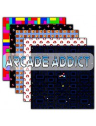 Arcade Addict  Backing Paper