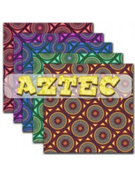 Aztec backing paper