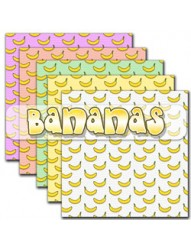 Bananas Backing Paper