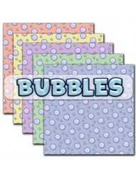 Bubbles backing paper