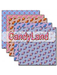 CandyLand Backing Paper