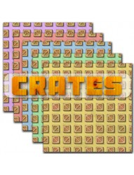 Crates backing paper