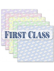 First Class Backing paper