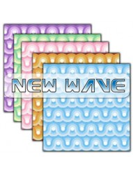 New Wave  Backing Paper