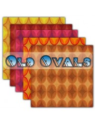 Old Ovals Backing Paper