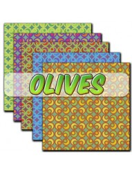 Olives Backing paper