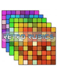 Retro Rubics Backing Paper