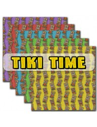 Tiki time backing paper