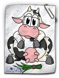 Cuddly Critters Cow (colour)