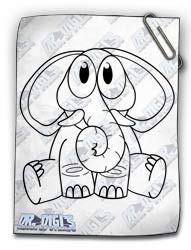 Cuddly Critters Elephant