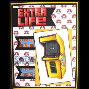 Arcade Addict Backing Paper