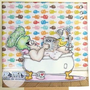 Bath Time Deirdery