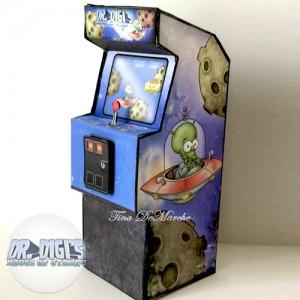 Dr Digi's Arcade Papercraft