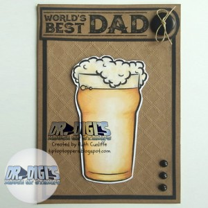 Fathers Day Sentiment sheet