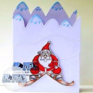 Slalom Santa