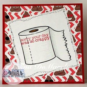 Toilet Paper free digital stamp