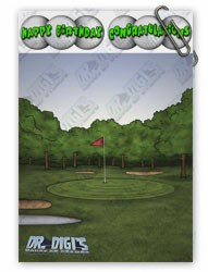 Hole in one Hal Backing paper